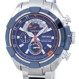 Seiko Velatura Yachting Timer Quartz SPC143 SPC143P1 SPC143P Men's Watch