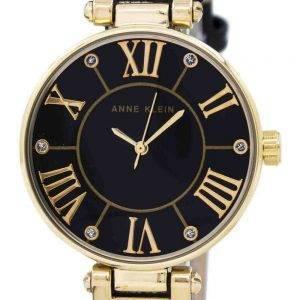Anne Klein Quartz Diamond Accent 1396BMBK Women's Watch