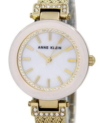Anne Klein Quartz Swarovski Crystal 1906PMGB Women's Watch