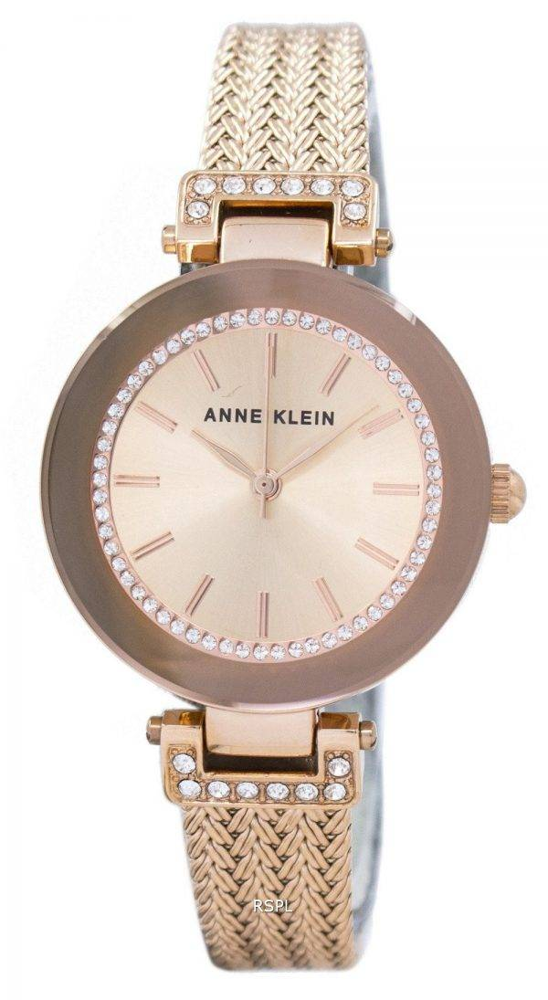 Anne Klein Quartz Swarovski Crystal 1906RGRG Women's Watch