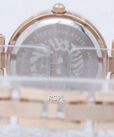 Anne Klein Quartz Swarovski Crystal 2238RGST Women's Watch