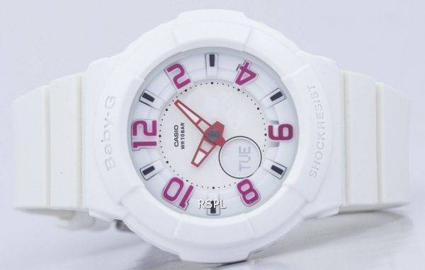 Casio Baby-G Neon Illuminator BGA-133-7BDR Womens Watch