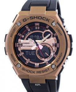 Casio G-Shock G-Steel Analog Digital World Time GST-210B-4A Men's Watch