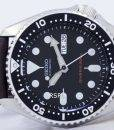 Seiko Automatic Diver's 200M Ratio Dark Brown Leather SKX007K1-LS11 Men's Watch 5