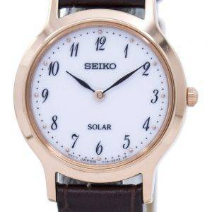 Seiko Solar SUP372 SUP372P1 SUP372P Women's Watch