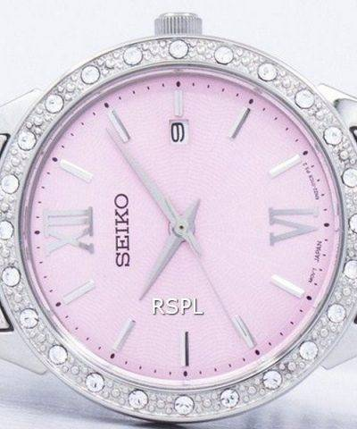 Seiko Quartz Diamond Accent SUR693 SUR693P1 SUR693P Women's Watch