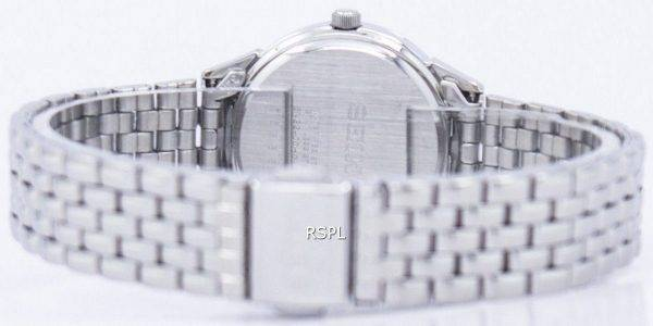 Seiko Quartz Diamond Accent SUR695 SUR695P1 SUR695P Women's Watch