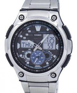 Casio Chronograph World Time Analog Digital AQ-190WD-1AV AQ190WD-1AV Men's Watch