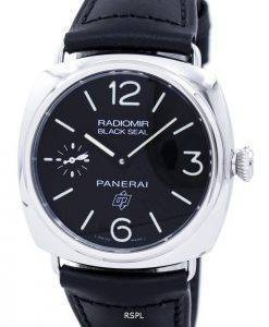 Panerai Radiomir Black Seal Logo Acciaio Automatic PAM00380 Men's Watch