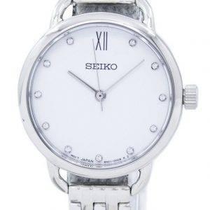 Seiko Analog Quartz Diamond Accent SUR697 SUR697P1 SUR697P Women's Watch