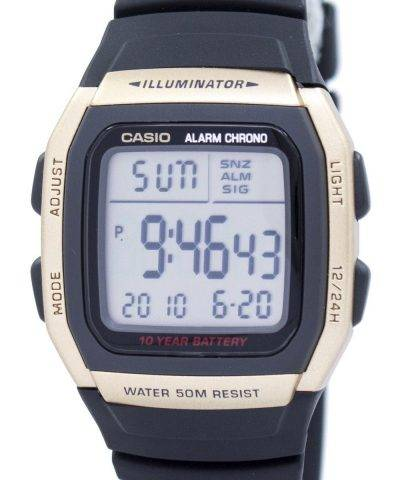 Casio Youth Illuminator Dual Time Alarm Chrono W-96H-9AVDF W96H-9AVDF Men's Watch