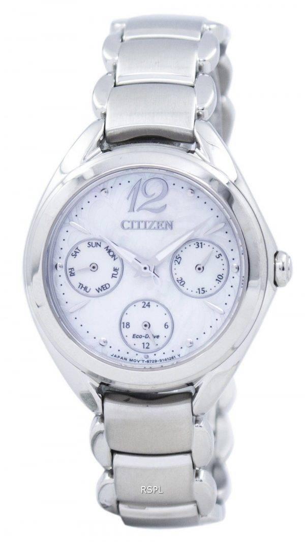 Citizen Eco-Drive Analog FD2020-54D Women's Watch