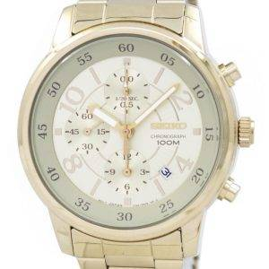 Seiko Chronograph Quartz SNDW84 SNDW84P1 SNDW84P Women's Watch