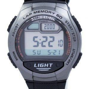 Casio Youth Illuminator Dual Time Digital W-734-1AV W734-1AV Men's Watch