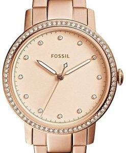 Fossil Neely Quartz Diamond Accent ES4288 Women's Watch