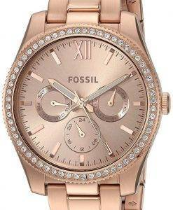 Fossil Scarlette Multifunction Quartz Diamond Accent ES4315 Women's Watch