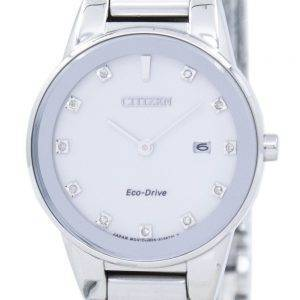 Citizen Axiom Eco-Drive Diamond Accent GA1050-51B Women's Watch