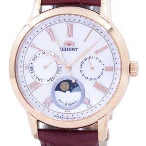 Orient Classic Quartz 'Sun & Moon' Japan Made RA-KA0001A00C Women's Watch