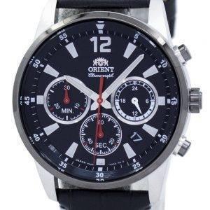 Orient Sports Chronograph Quartz Japan Made RA-KV0005B00C Men's Watch