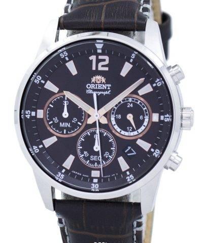 Orient Sports Chronograph Quartz Japan Made RA-KV0006Y00C Men's Watch