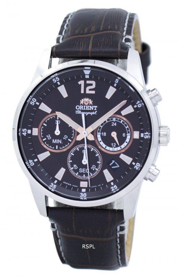 Orient Sports Chronograph Quartz Japan Made RA-KV0006Y00C Men's Watch