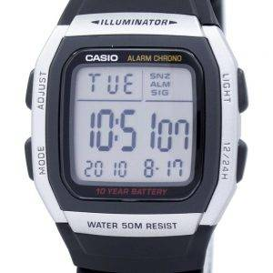 Casio Youth Digital Alarm Chrono Illuminator W-96H-1AVDF W-96H-1AV Mens Watch