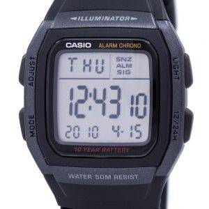 Casio Youth Digital Illuminator W-96H-1BVDF W-96H-1BV Mens Watch