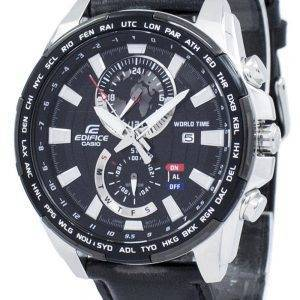 Casio Edifice World Time Quartz EFR-550L-1AV EFR550L-1AV Men's Watch