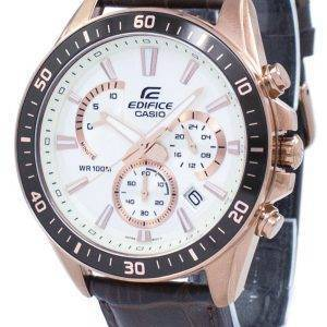 Casio Edifice Chronograph Quartz EFR-552GL-7AV EFR552GL-7AV Men's Watch
