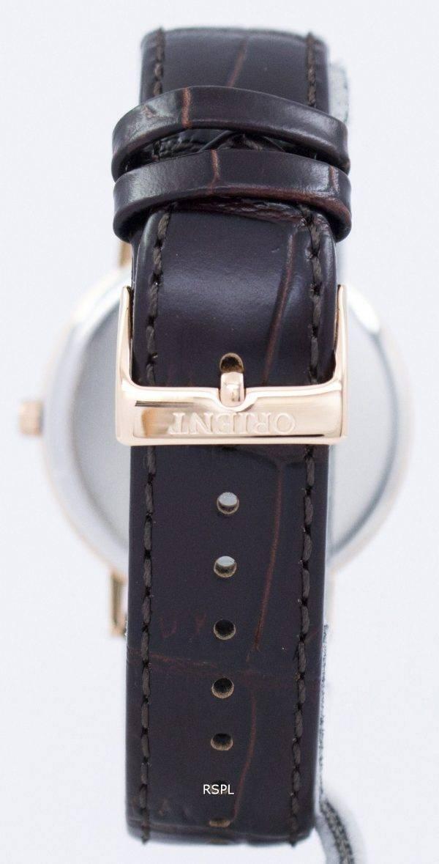 Orient Slim Collection Minimalist Quartz FGW05001T Men's Watch