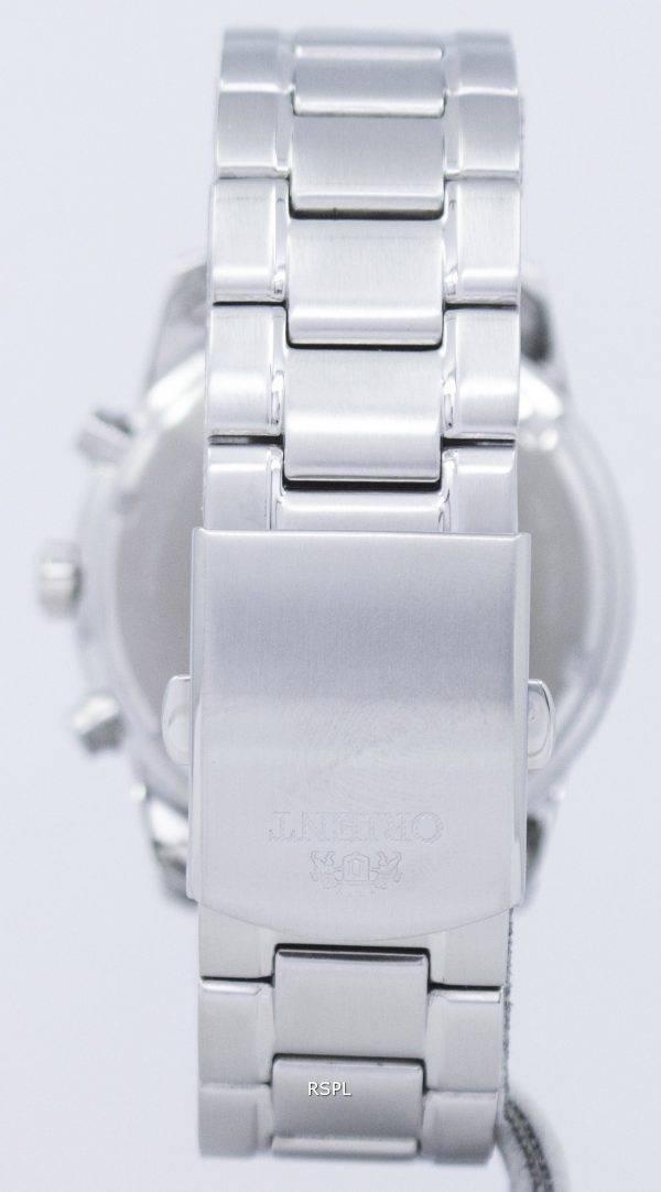 Orient Sports Chronograph Quartz Japan Made RA-KV0001B00C Men's Watch
