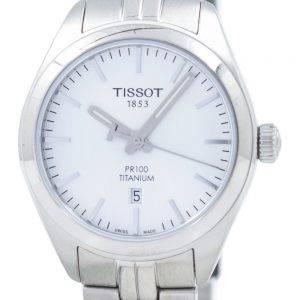 Tissot T-Classic PR 100 Titanium Quartz T101.210.44.031.00 T1012104403100 Women's Watch