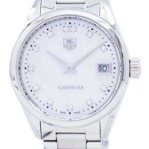 TAG Heuer Carrera Quartz Diamond Accent WAR1314.BA0778 Women's Watch
