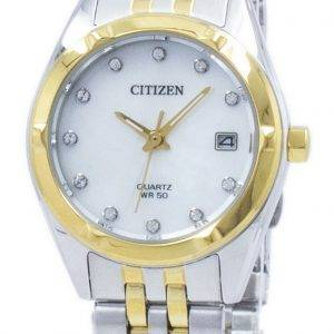 Citizen Eco-Drive Diamond Accent EU6054-58D Women's Watch