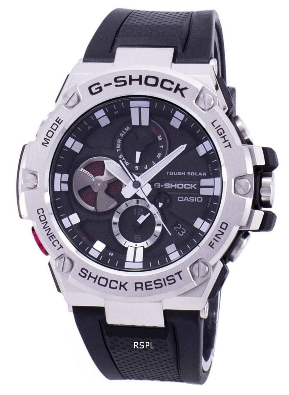 9c90411ee42 Casio G-Shock G-Steel Tough Solar Analog GST-B100-1A GSTB100-1A ...