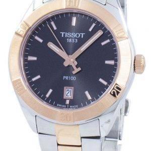 Tissot T-Classic PR 100 Sport Chic Quartz T101.910.22.061.00 T1019102206100 Women's Watch