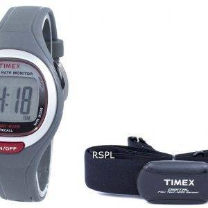 Timex Easy Trainer Heart Rate Monitor Indiglo BPM Digital T5K729 Unisex Watch