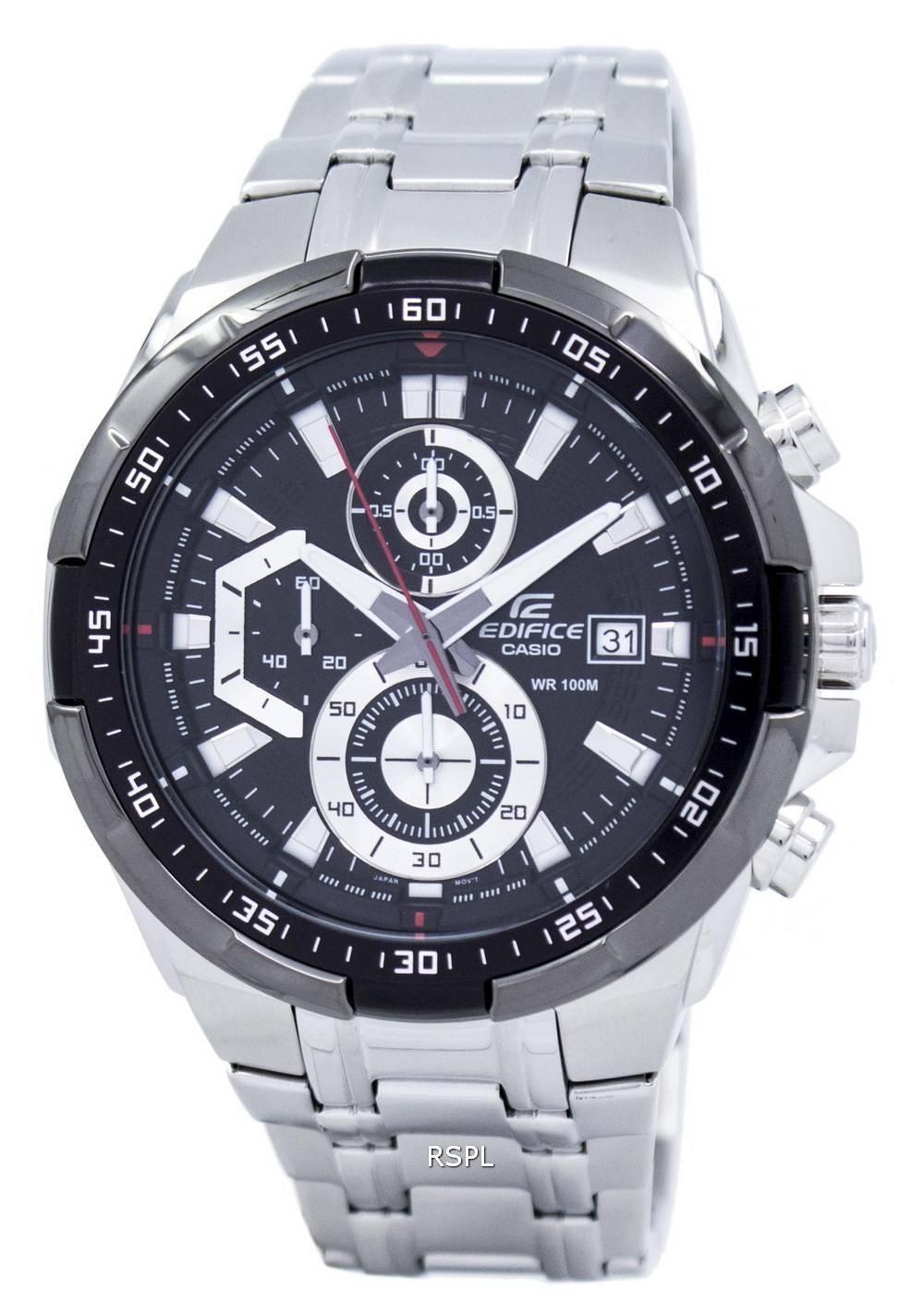 Casio Edifice Chronograph 100M EFR-539D-1AV Mens Watch - CityWatches.co.nz 664e8f7d4e