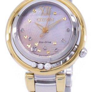 Citizen L Sunrise Eco-Drive Diamond Accent EM0324-58D Women's Watch