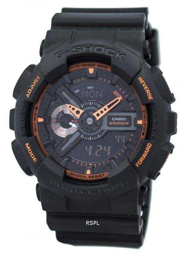Casio G-Shock Analog-Digital GA-110TS-1A4 Mens Watch