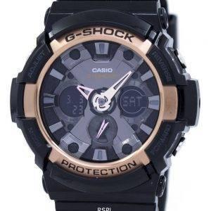 Casio G-Shock Rose Gold Accented GA-200RG-1A Mens Watch
