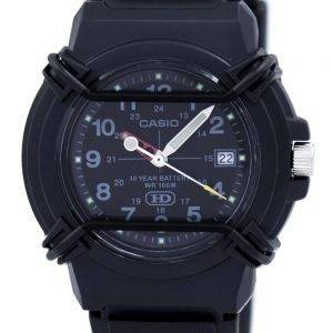 Casio Enticer Analog Black Dial HDA-600B-1BVDF HDA-600B-1BV Mens Watch