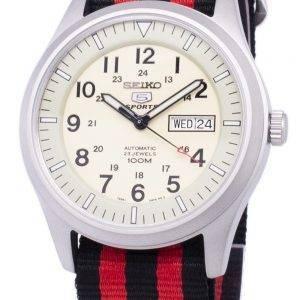 Seiko 5 Sports Automatic Nato Strap SNZG07K1-NATO3 Men's Watch