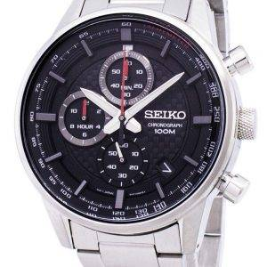 Seiko Sports Chronograph Tachymeter Quartz SSB313 SSB313P1 SSB313P Men's Watch
