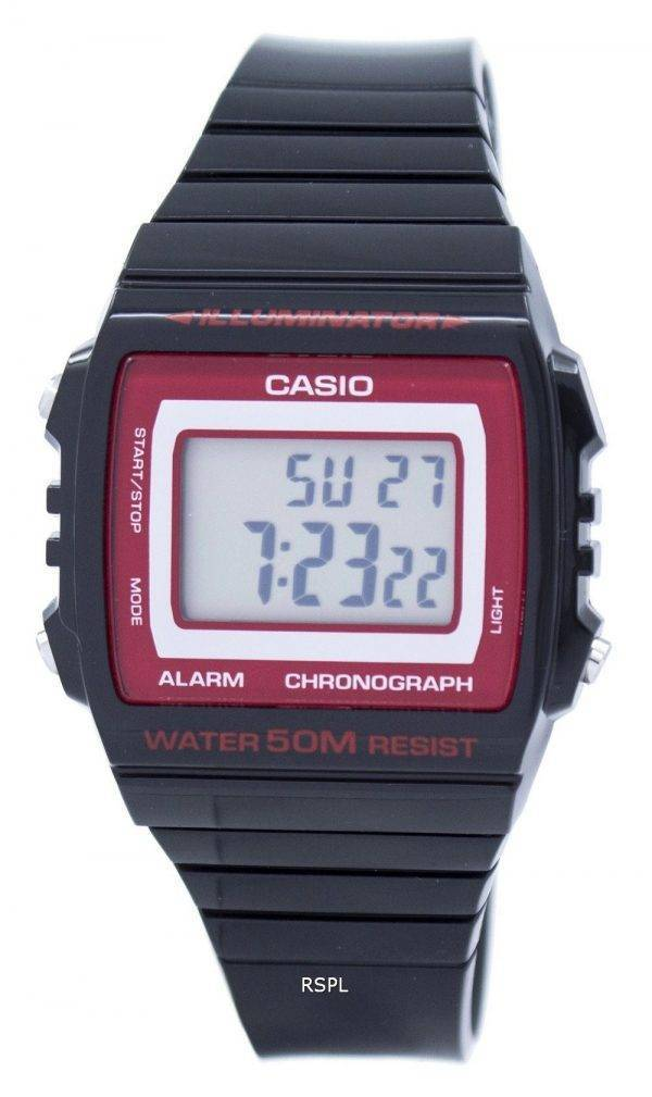 Casio Illuminator Chronograph Alarm Digital W-215H-1A2VDF W215H-1A2VDF Unisex Watch
