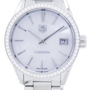 TAG Heuer Carrera Quartz Diamond Accent WAR1315.BA0778 Women's Watch