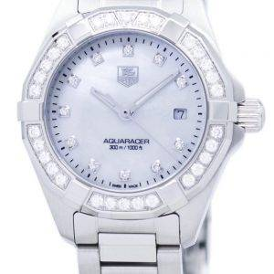 TAG Heuer Aquaracer Quartz Diamond Accent WAY1414.BA0920 Women's Watch