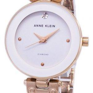 Anne Klein Quartz Diamond Accents 1980WTRG Women's Watch