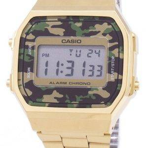 Casio Retro Digital Camouflage Alarm Chrono A168WEGC-3EF Unisex Watch