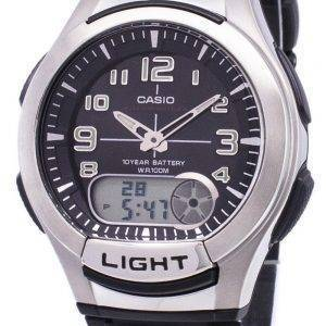 Casio Analog Digital Illuminator Telememo AQ-180W-1BVDF AQ-180W-1BV Mens Watch